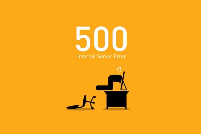 Error 500 (Internal Server Error)